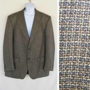 YSL, YVES ST. LAURENT Jacket/Blazer, 47L Silk Wool
